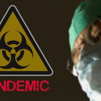 Pandemic confirmed