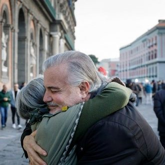Caution over hugs as lockdown eases